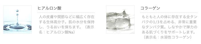 ビーグレンのヌーディーヴェールの美容成分画像